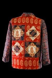 Handloom Batik Quilted - back