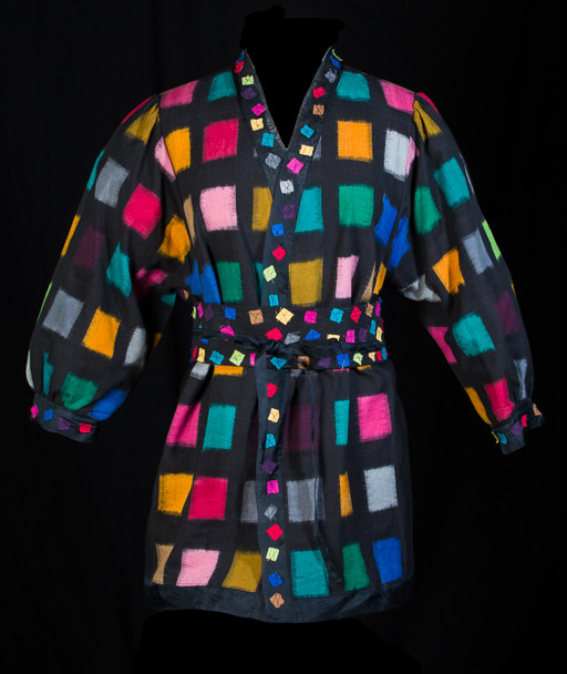 Bright Squares with Obi Belt