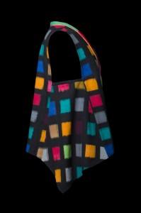 Bright Squares Vest (side)