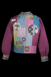 Quilted Circles Jacket (back)
