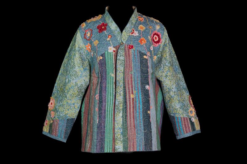 Flower Garden Reversible Jacket Directions Fit For Art