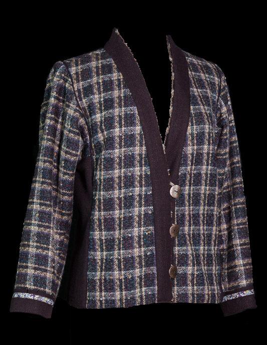 Brown Plaid wool