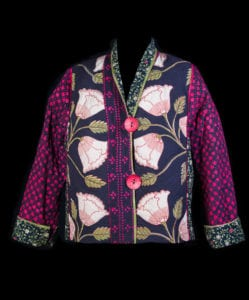 Quilted Christmas Jacket