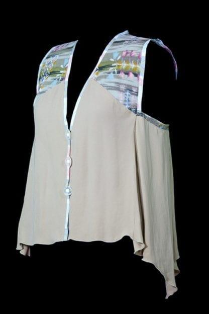 Cool Green Mixed Fiber Vest