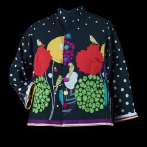 Echino Shirt Jacket