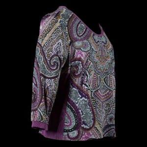 Paisley Knit Tee