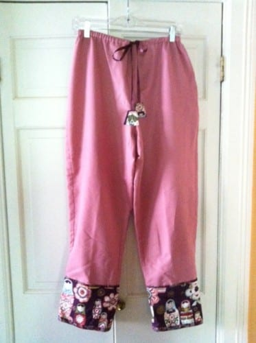 Finished PJ pants