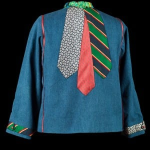 Denim Tie Jacket