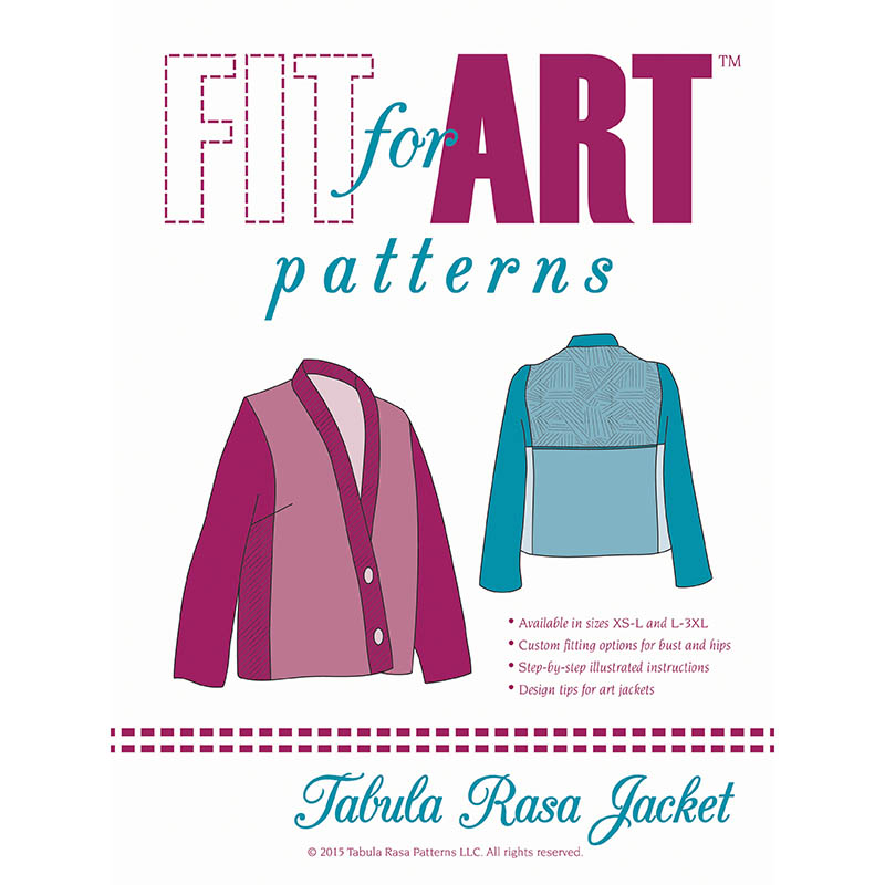 Tabula Rasa Jacket | Fit For Art Patterns