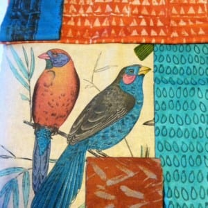 A different pair of birds with more Dearse Fabric