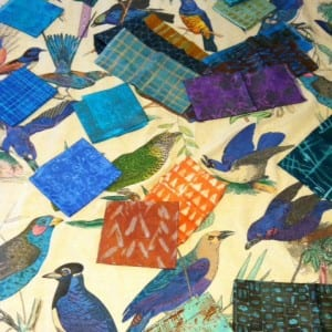 photo birds with more fabric