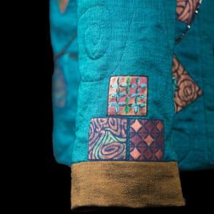Prayer Flags - sleeve detail