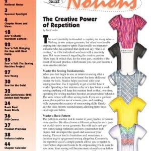Notions Magazine Summer 2015