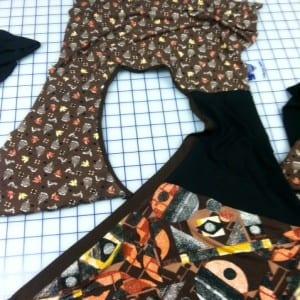 photo knit tunic neck finish