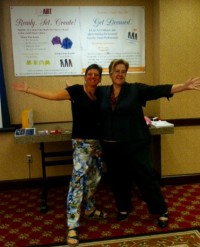 Licensees Edye and Monica at the ASDP Conference