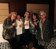 ASDP Foundation Board Members, toasting the launch of the charitable foundation.