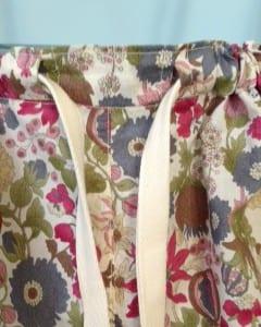 PJ pants drawstring detail