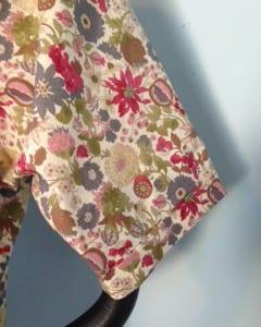 PJ sleeve detail