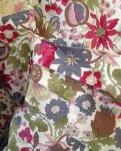 Robe sash detail