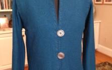 Boiled Wool Sweater Jacket