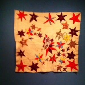 Star Quilt at the BMA