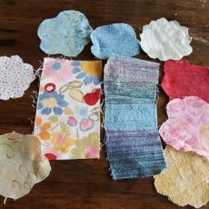 My fabric choices.