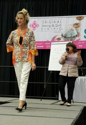 Rhonda and Rae, two very different shapes and sizes both in Eureka! Pants.