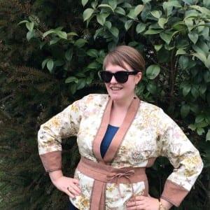 Anna Modeling Obi Belt