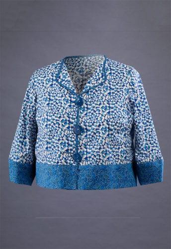 Blue Liberty Cotton Jacket