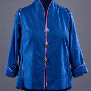 Silk blend funnel neck Rain or Shine
