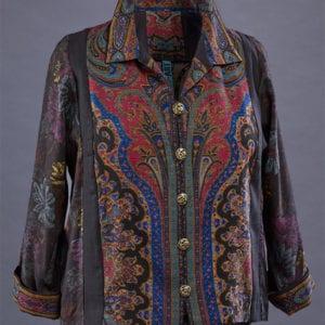 Wool Challis winter shirt