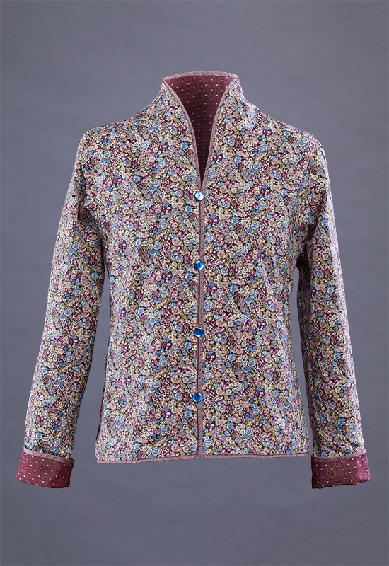 Liberty of London side of reversible Funnel neck shirt