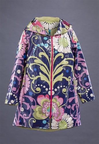 April Showers Laminated Cotton Coat