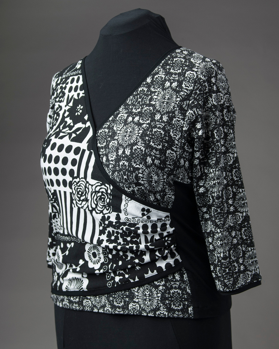Black & White Surplice