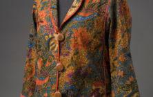 Indonesian Sarong to Tabula Rasa Jacket
