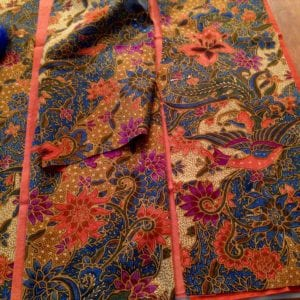 Previewing batik side panel and trims