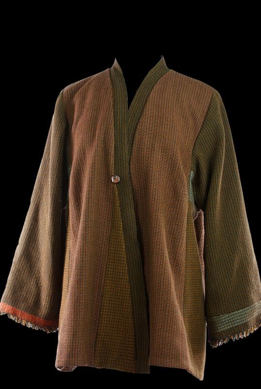 Handwoven Heaven Tabula Rasa Jacket by Fit for Art Patterns