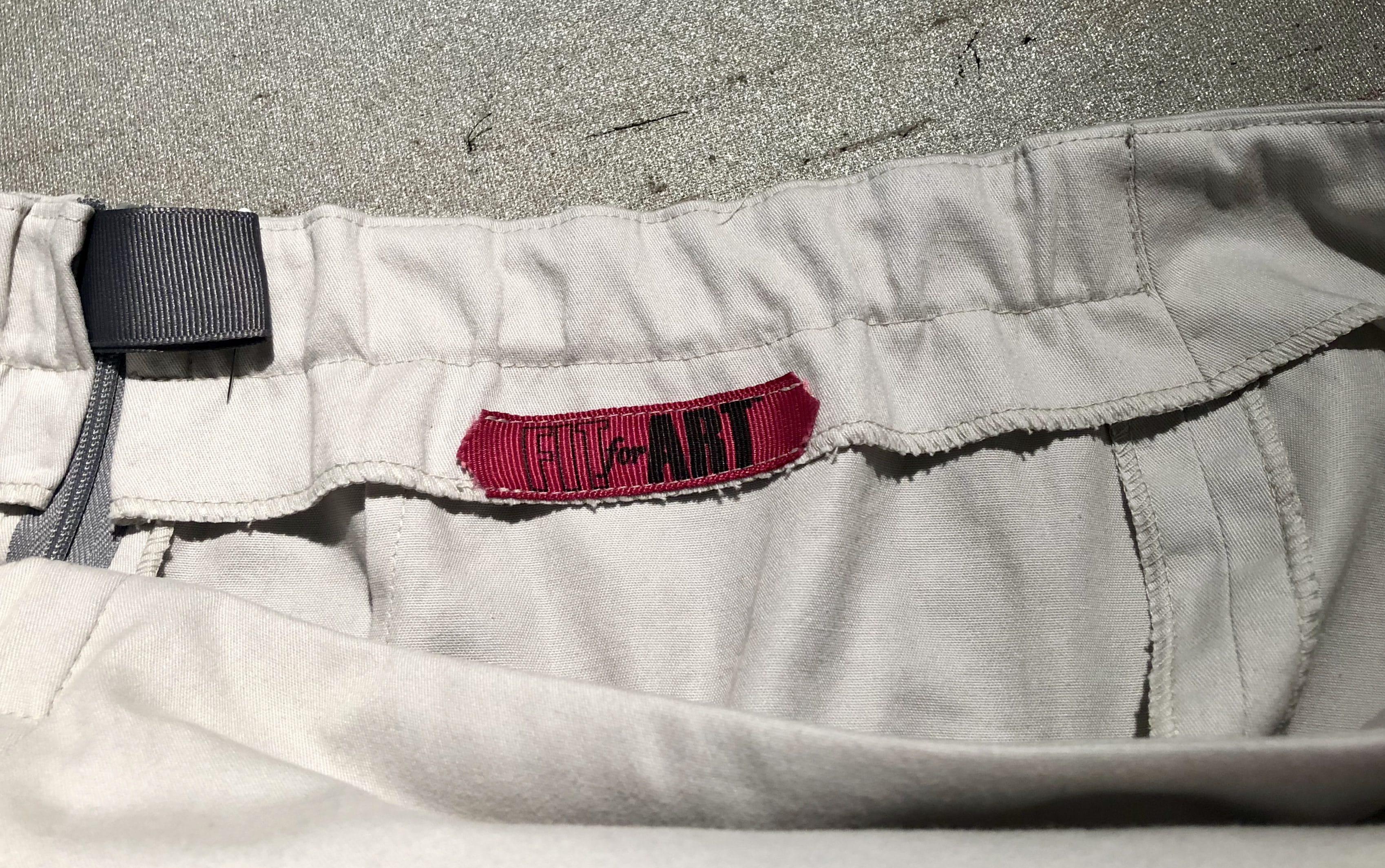 Faced Waist Eureka! Pants with Elastic Insert