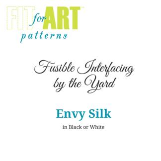 Interfacing by the Yard - Envy Silk