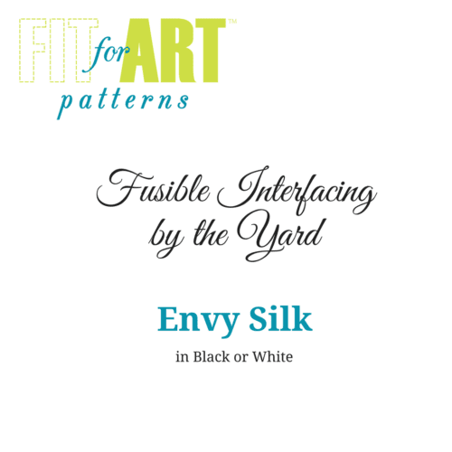 Interfacing by the Yard - Envy Silk