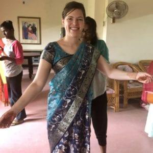 Sari all done!