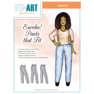Eureka Pants that Fit Pattern Cover