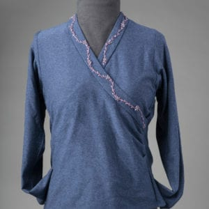 Surplice front with Shaped Band