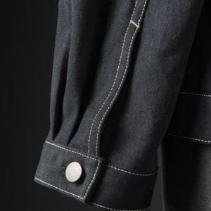 Two-piece sleeve and cuff detail
