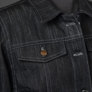 Jean Jacket Variations for the Tabula Rasa Jacket from Fit for Art Patterns, Pocket flap detail