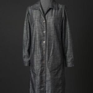 Denim Shirt Dress unbelted