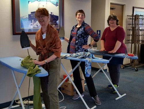 Sew Successfully Retreat with Fit for Art Patterns at the Maritime Conference Center