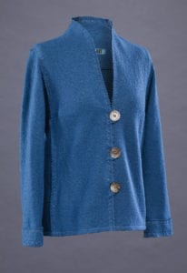Rain or Shine Variations for the Tabula Rasa Jacket by Fit for Art Patterns, Embroidered Wool Jacket