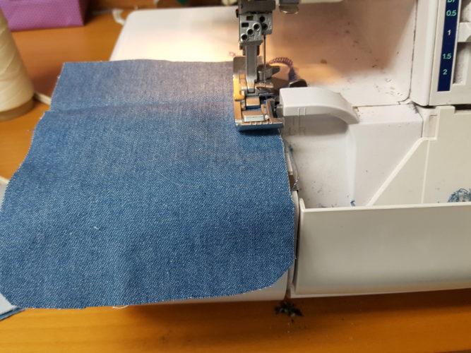 Preparing the Patch Pocket
