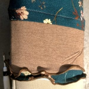 Gethered cuff for Tabula Rasa Knit Tee & Tunic by Fit for Art Patterns